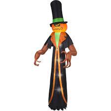 walmart inflatable halloween decorations gemmy airblown inflatable 12 u0027 x 5 u0027 pumpkin reaper halloween