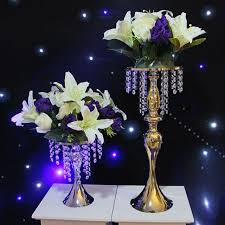 Gold Table Centerpieces by Aliexpress Com Buy Gold Silver Wedding Table Centerpieces Flower