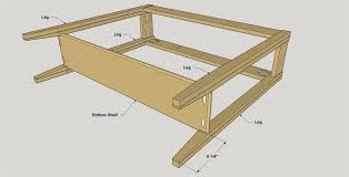 attaching legs to a table console table buildsomething com