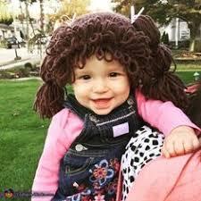 Homemade Cabbage Patch Kid Halloween Costume Lil U0027 Stinker Halloween Costumes Parents Kids