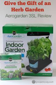 give the gift of an herb garden aerogarden 3sl review