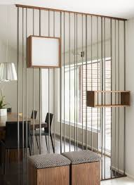 Wood Divider by Design Detail Metal Rods U0026 Wooden Boxes Have Been Used To Create