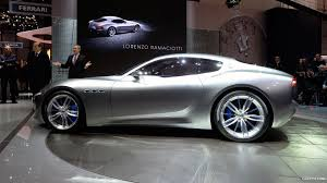 maserati alfieri white 2014 maserati alfieri concept side hd wallpaper 5