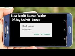 android license how to solve invalid license error problem of any android