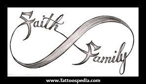 faith and family tattoos