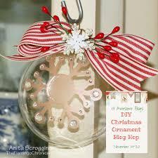 diy handmade christmas ornament blog hop the flamingo chronicals