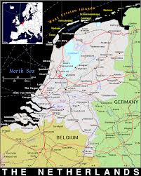 Map Of The Netherlands Nl The Netherlands Public Domain Maps By Pat The Free Open