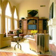 chicago arch window treatments living room traditional with french