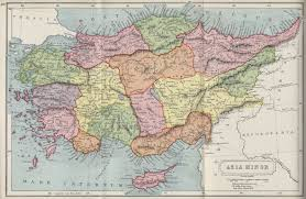 Ottoman Syria by Afternoon Map The Most Beautiful 19th Century Arabic Maps Of