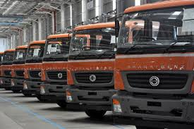 mercedes trucks india price daimler india launches set of bharatbenz trucks business line