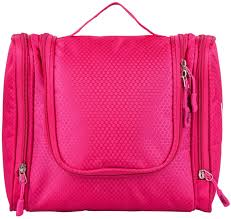 Chic Toiletries Hanging Toiletry Bag Use For Makeup Cosmetic Shaving Travel