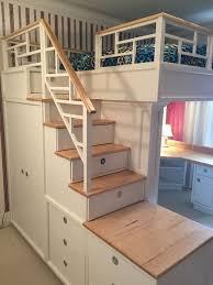 Bunk Bed Plans With Desk Bunk Beds U0026 Loft With Desks Wayfair Pertaining To Elegant