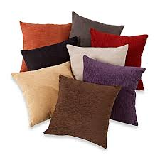 Pillows At Bed Bath And Beyond Crown Chenille Throw Pillow Set Of 2 Bed Bath U0026 Beyond