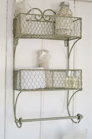 Bathroom In French by Double Wall Shelf And Towel Rail In French Grey Ideal For A