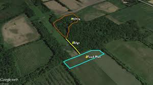 Map Bedding Mapping Whitetails 04 Rub Lines Legendary Whitetails