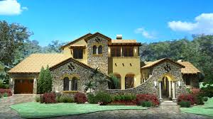 Mediterranean Style Home Plans Plan 16811wg Luxury Plan With Tuscan Influences Bonus Rooms