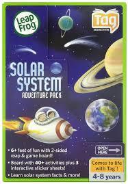 Solar System Map Amazon Com Leapfrog Tag Solar System Adventure Pack Toys U0026 Games