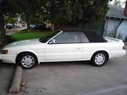 mitsubishi mirage coupe 1995 curbside classic 1992 infiniti m30 u2013 swallowed up in the memory hole