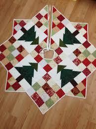 falda del árbol de navidad diy y manualidades pinterest