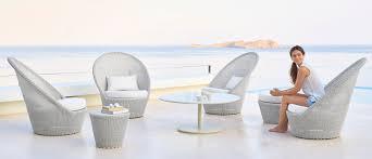 Outdoor Furniture Mallorca by Cane Line Outdoor Armchair Kingston Mediterranean Living Mallorca