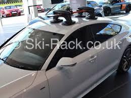 audi a5 roof audi a5 ski snowboard rack no roof bars required ebay