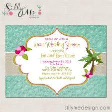 Bridal Invitation Cards Luau Bridal Shower Invitations Dhavalthakur Com