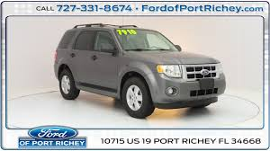 used 2010 ford escape xlt for sale in port richey fl near