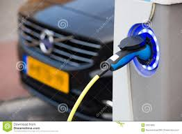 electric vehicles charging stations electric car at charging station editorial stock image image