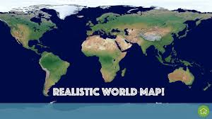 Blue World Map by Kids Atlas Android Apps On Google Play
