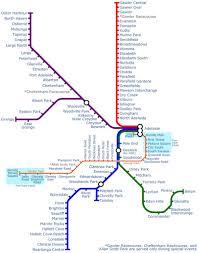 Metro Train Map Adelaide Metro Maplets