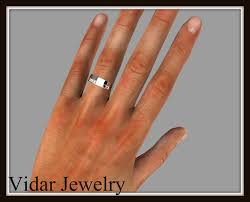 mens princess cut diamonds wedding ring vidar jewelry unique mens princess cut wedding band vidar jewelry unique