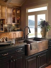 copper apron front sink copper farmhouse kitchen sinks ecuf19ach copper apron front kitchen