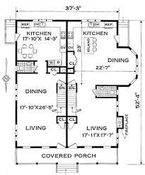 family floor plans multi family plan 4285