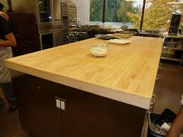 simple yet unique butcher block kitchen table u2014 unique hardscape