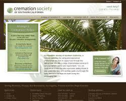 socal cremations funeralnet custom funeral home website design cremation