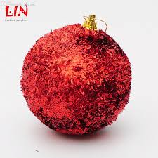 wholesale christmas 8cm bright red ball gift ornament christmas
