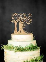 personalized wedding cake toppers groom wood cake topper mr mrs tree cake topper personalized
