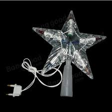 tree topper light color changing decoration