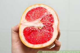 How To Scrub Bathtub How To Clean Your Bathtub With Grapefruit And Salt 6 Steps