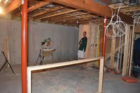 the ellestads finishing the basement