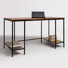 appealing extra long computer desk woodware arts and crafts