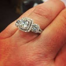 engagement rings from zales 1 2 ct t w three ring in 10k gold