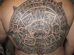 aztec mayan calendar tattoo youtube