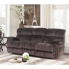 Cloth Reclining Sofa Blankenship Fabric Reclining Sofa With Drop Console And Usb