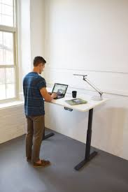 eco new sit stand height adjustable desk b6006 conklin