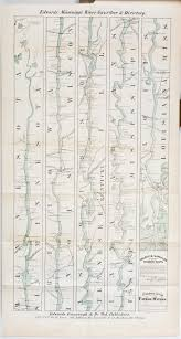 Map Of The Mississippi River One Mississippi Coloney U0026 Fairchild U0027s Ribbon Map Of The Father Of