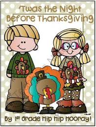 twas the before thanksgiving literacy activities 1st