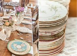 mismatched plates wedding 16 best mismatched plates for shabby chic wedding images on