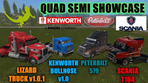 kenworth truck bedding farming simulator 17 quad semi review u0026 showcase
