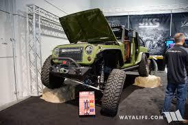 jeep kaiser 6x6 2017 sema fox bds jks bruiser 6x6 jeep pickup truck